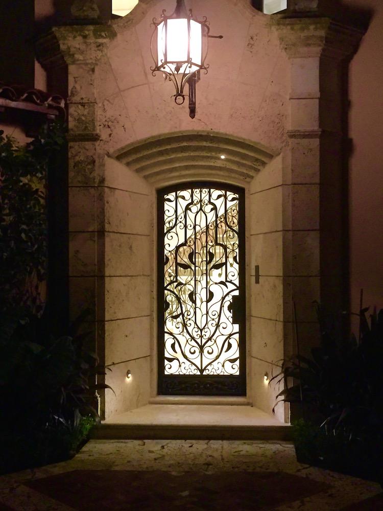 Copy Of (9)Hamsa Door Grille, With Light