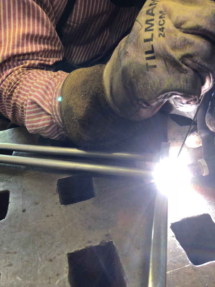 Copy Of TIG Welding Stainless Steel